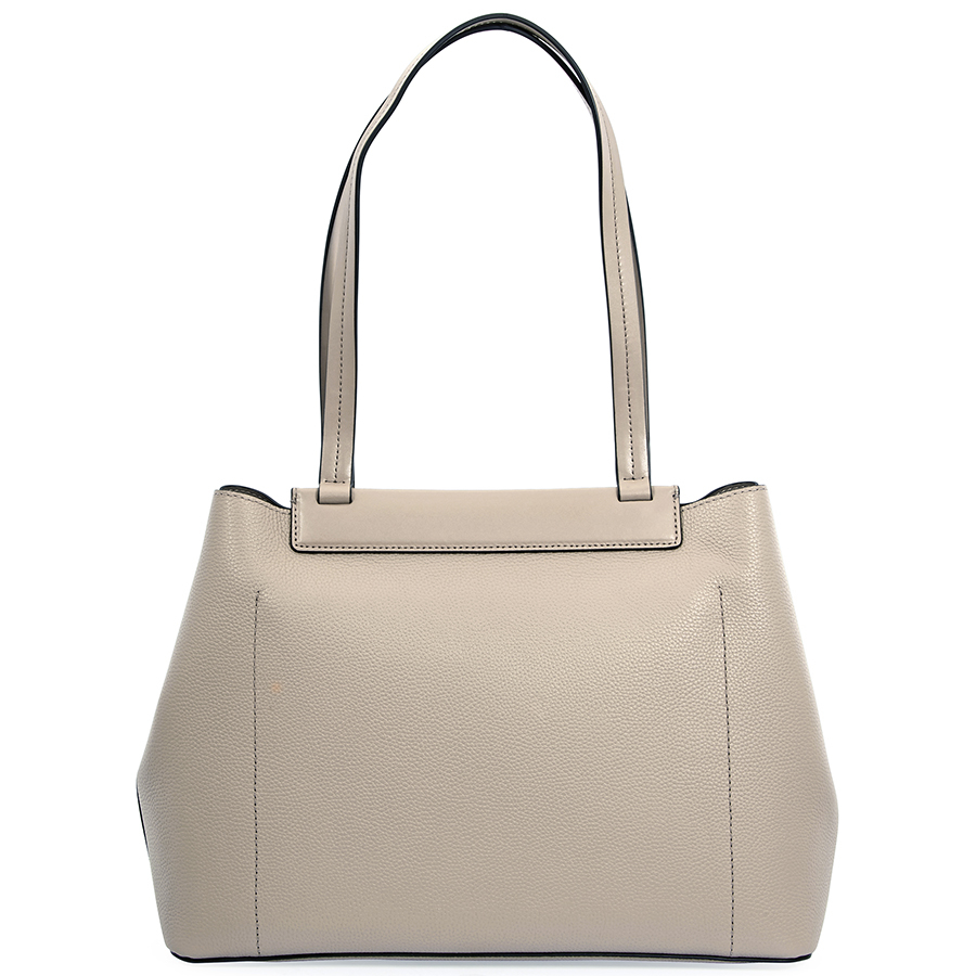 bca08836a4a9 Michael Kors - Michael Kors Meredith Medium East/West Bonded Leather Tote-  Truffle - Walmart.com