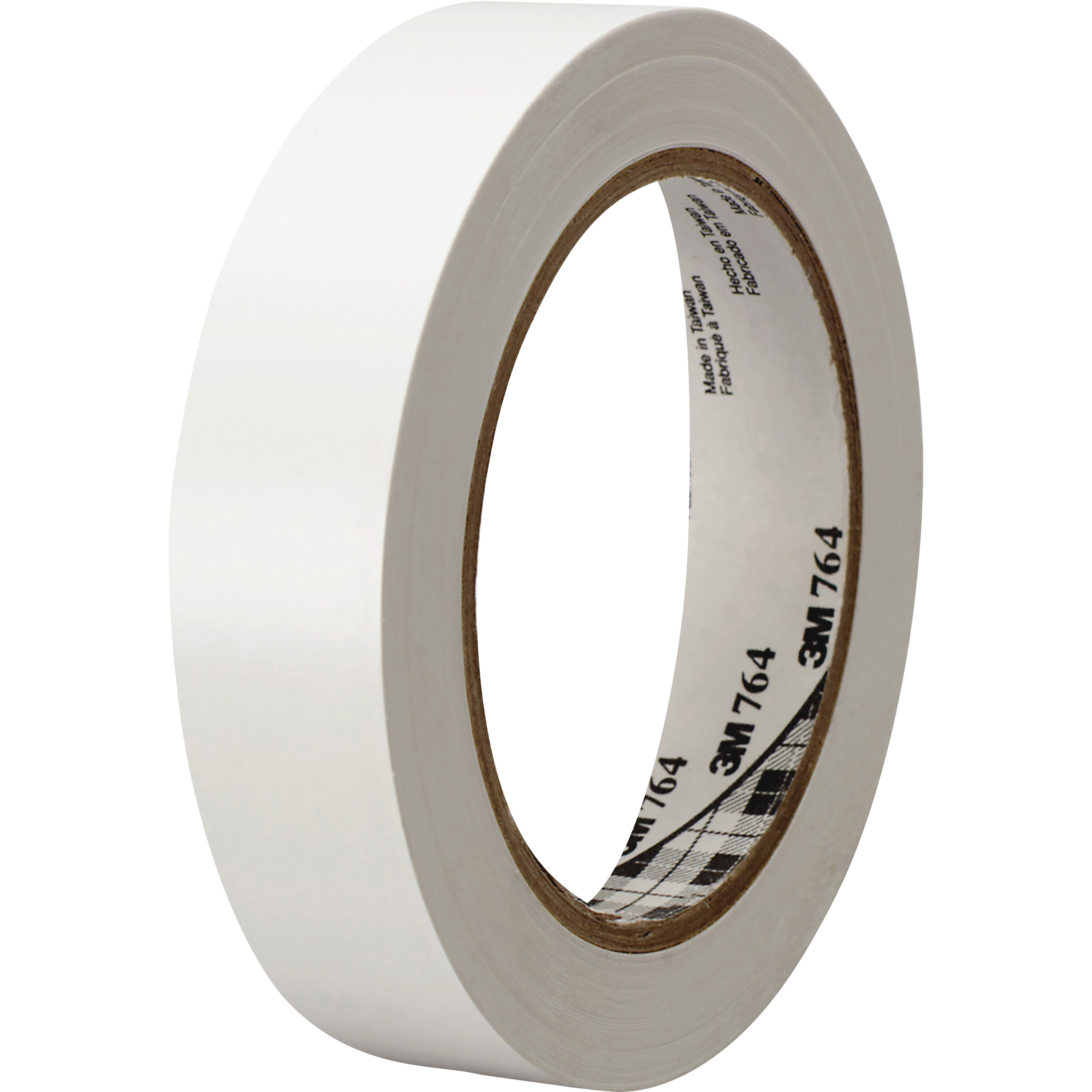 3M, MMM764136WHT, General-purpose 764 Color Vinyl Tape, 1 Roll, White