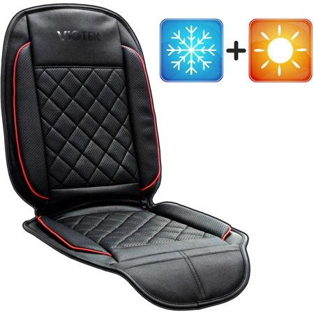 viotek heated and cooled seat cushion with tru comfort auto heating and cooling climate control. Black Bedroom Furniture Sets. Home Design Ideas