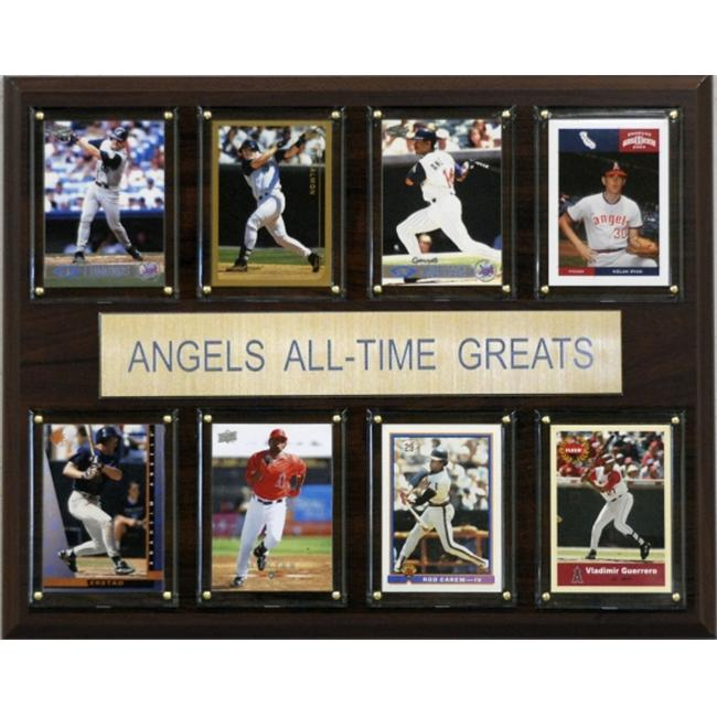 C & I Collectables 1215ATGLAA MLB Los Angeles Angels All-Time Greats Plaque