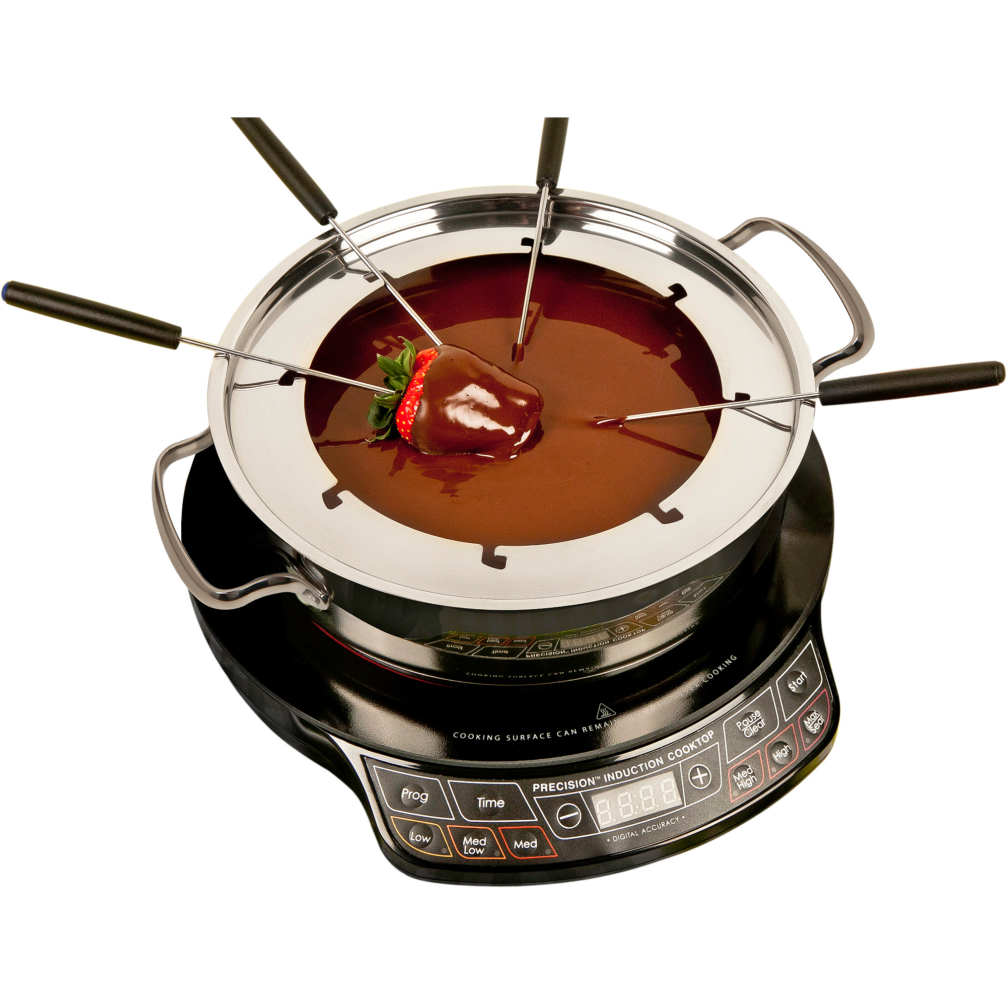 Nuwave Stainless Steel Ultimate Cookware, Silver- Comes with Glass Lid by Telebrands