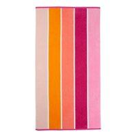 "Mainstays 34"" x 64"" 100% Cotton Stripe Beach Towel"