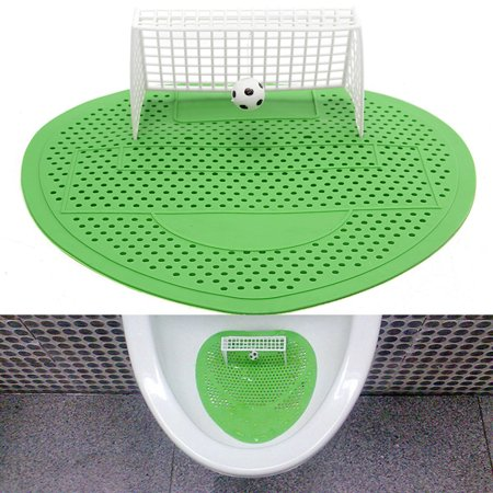 Football Soccer Shoot Goal Style Urinal Filter Screen Mat Pad Home Hotel Club