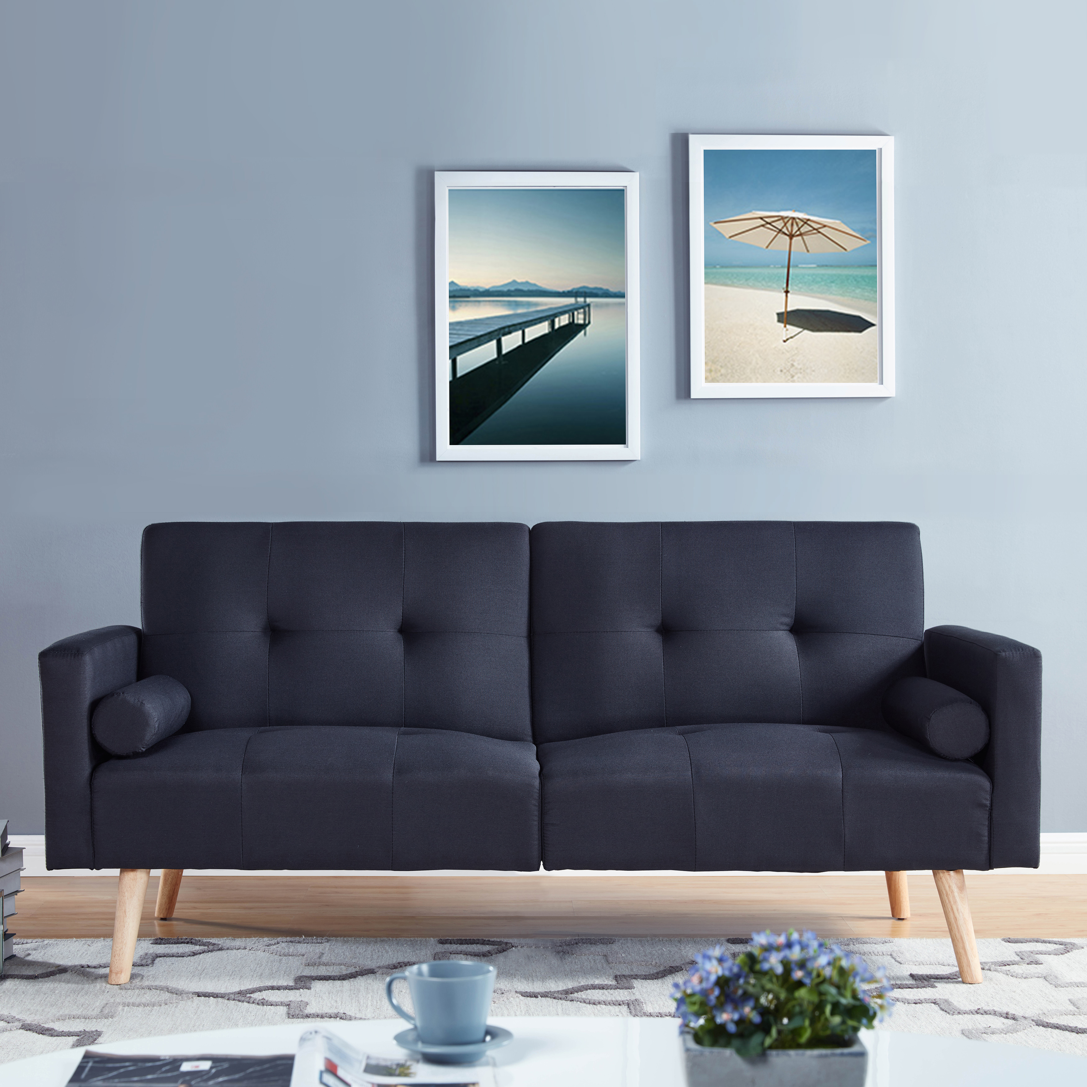 simmons montreal upholstered convertible sofa multiple. Black Bedroom Furniture Sets. Home Design Ideas