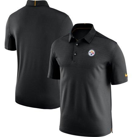 Pittsburgh Steelers Nike Sideline Elite Coaches Team Color Performance Polo - (Nike Hoops Elite Max Air Team 2-0 Inside)