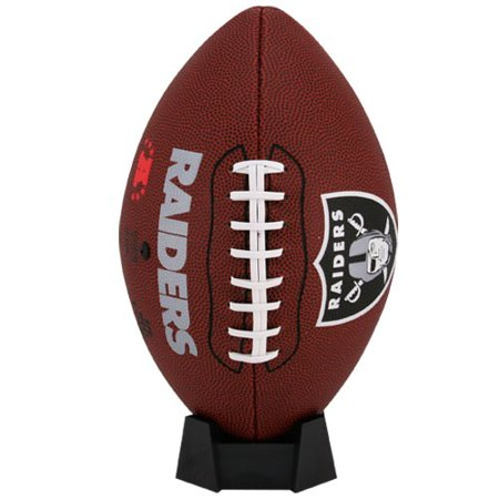 Oakland Raiders Rawlings Game Time Official Size Football - No Size (Raiders Logo Football)