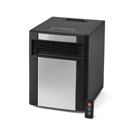 Comfort Infrared Natural Gas Heater - Mainstays Infrared Electric Cabinet Heater, Black/Grey, DF1515