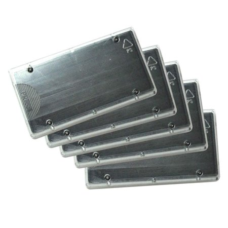 Replacement Pad for Cosco 2000 Plus Printer 40, Wholesale 5-PACK, Black Color