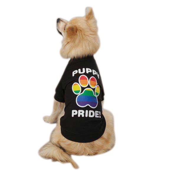 Casual Canine Puppy Pride Tee Xs Blk