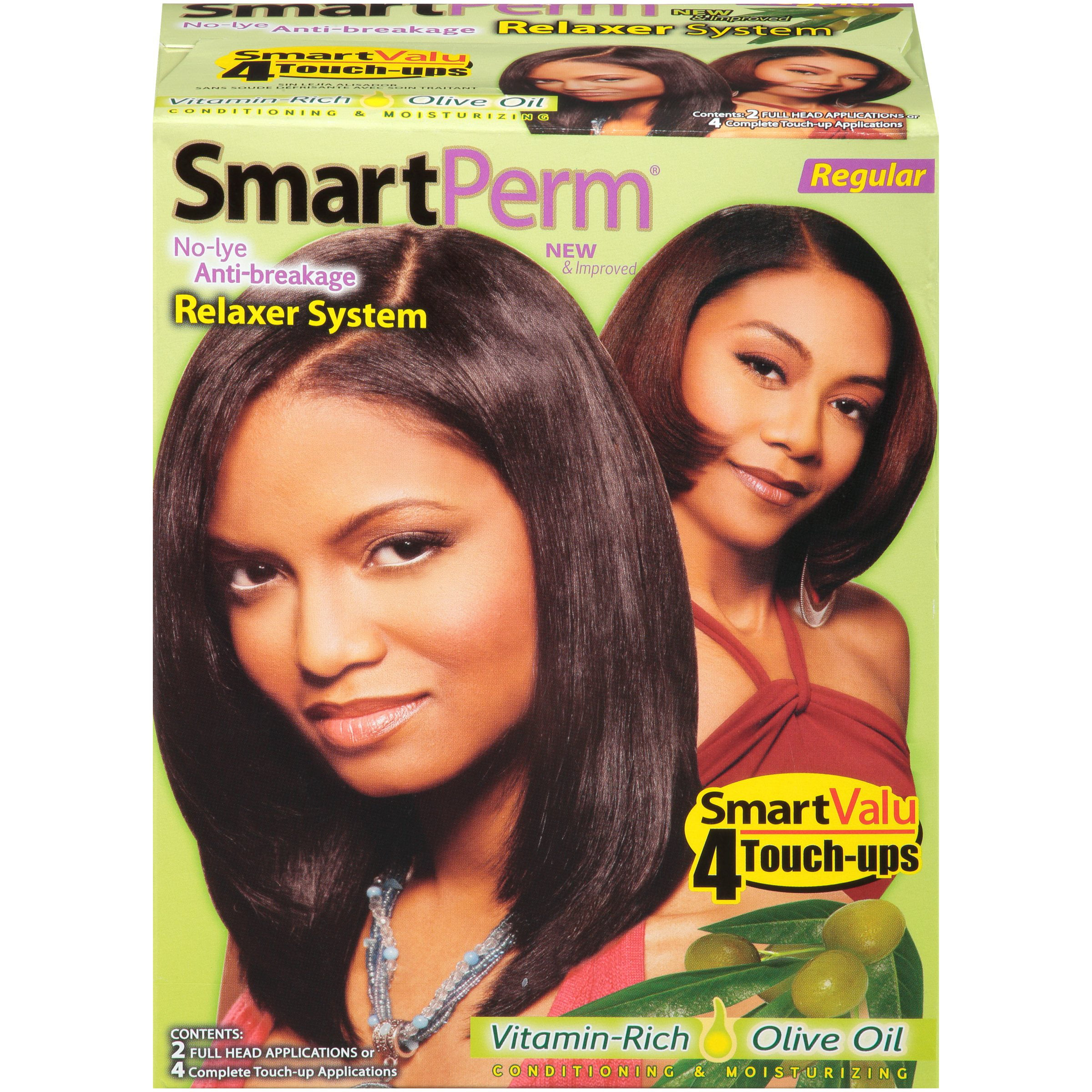 Smart Perm Regular Hair Relaxer System Walmart