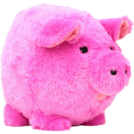 Pink Plush Piggy  Bank