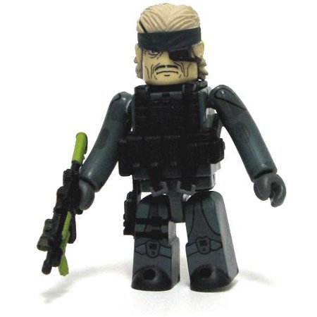 Metal Gear Solid Kubrick Solid Snake Minifigure [Guns of the Patriots]](Patriots Toys)