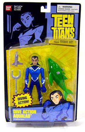 Teen Titans Go! Aqualad Action Figure [Dive Action] by