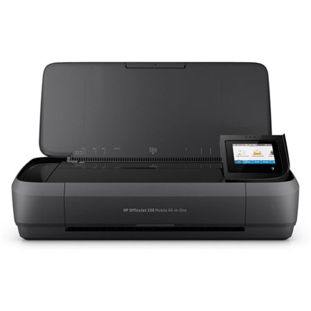 HP Officejet 250 Mobile All-in-One Multifunction Printer 4 Ink Cartridges (Black, Cyan, Magenta, Yellow)  750 MHz