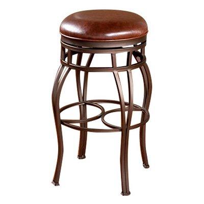 AHB Bella Backless Counter Height Stool - Bourbon
