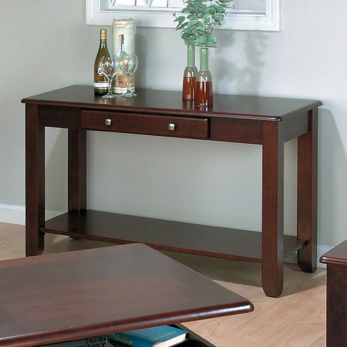 Jofran 280-4 Vintner Merlot Sofa Table by