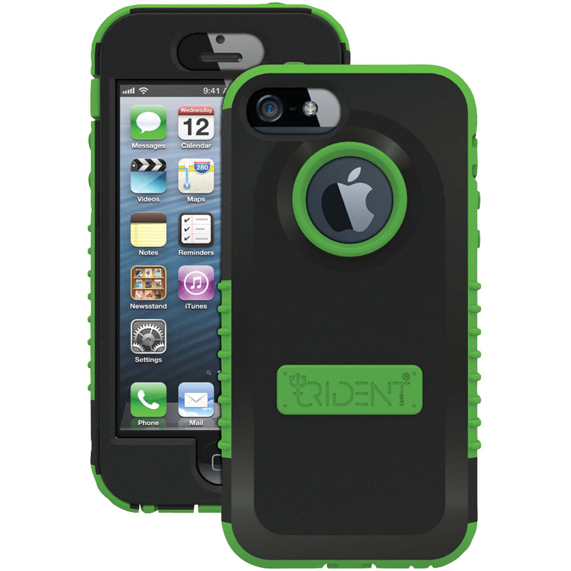 TRIDENT CY-IPH5-TG iPhone(R) 5/5s Cyclops(TM) Series Case (Trident Green)