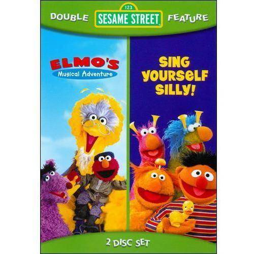 Sesame Street: Sing Yourself Silly / Elmo's Musical Adventure (Full Frame)