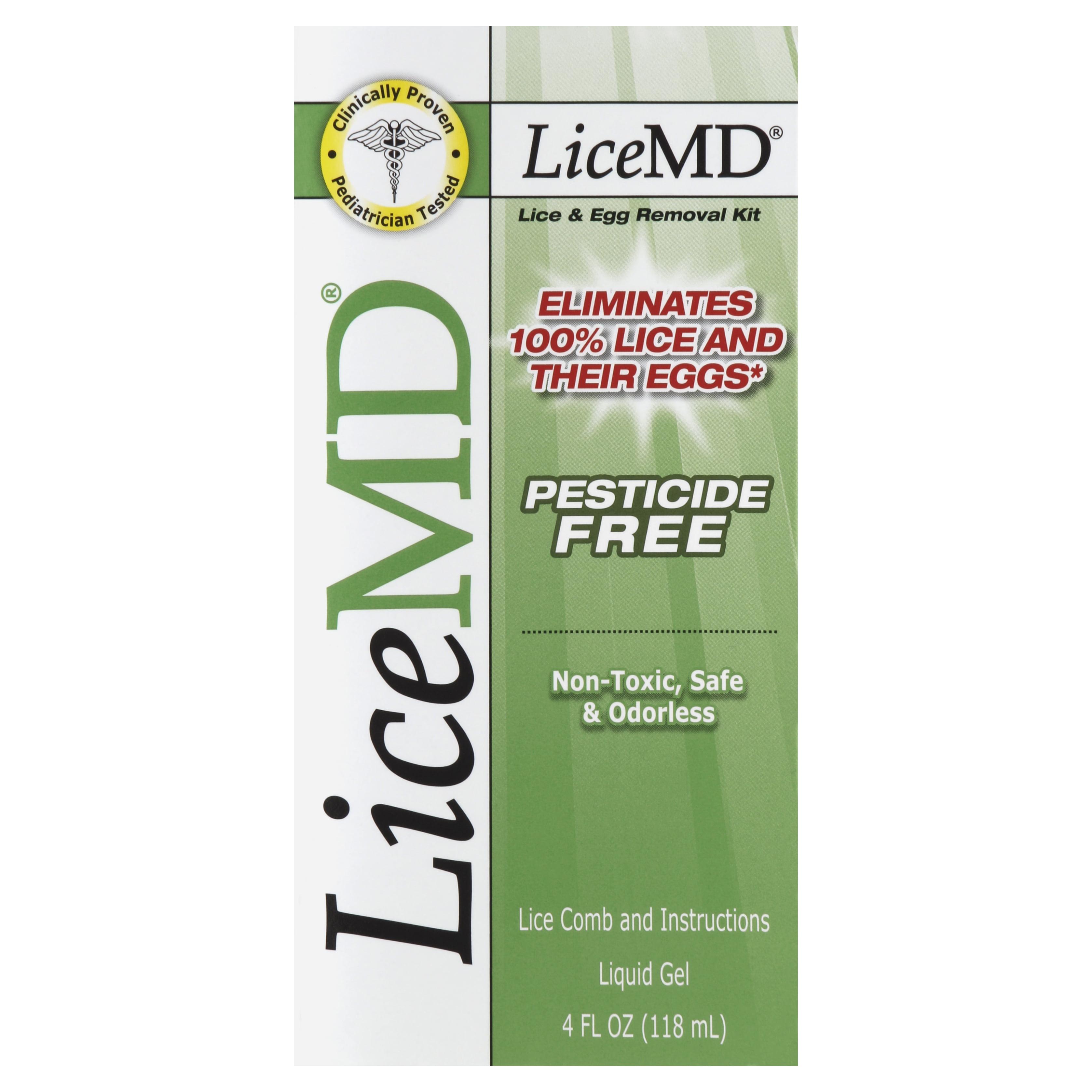 LiceMD Head Lice Treatment Kit, 4 Ounce