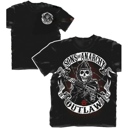 Sons of Anarchy Outlaw Reaper Adult T-Shirt - Reaper Clothes