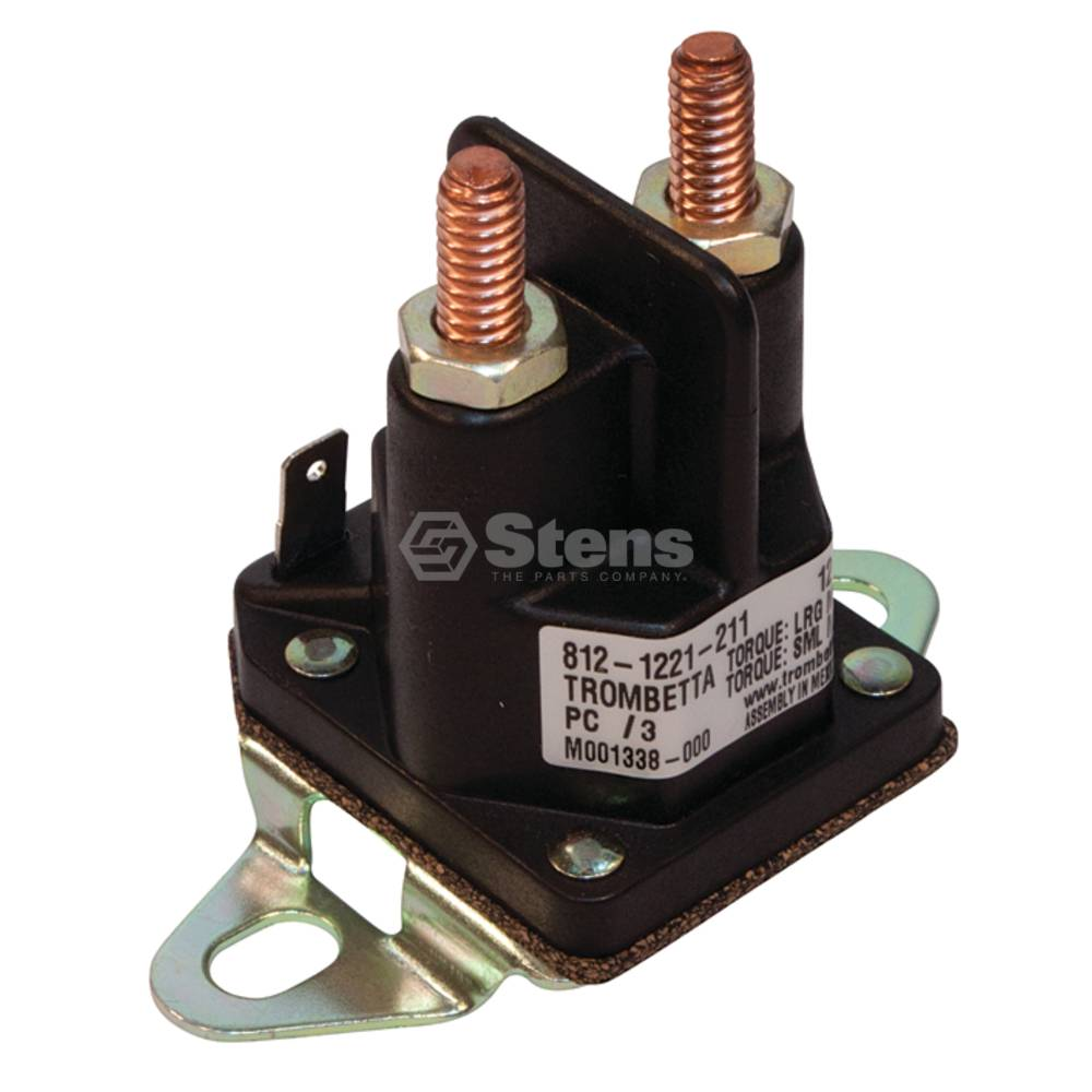 Husqvarna 539101714 Starter Solenoid for Lawn Mowers by Stens Corporation