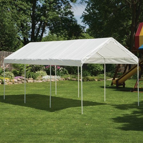 Max AP 10' x 20' White All Purpose Canopy by ShelterLogic