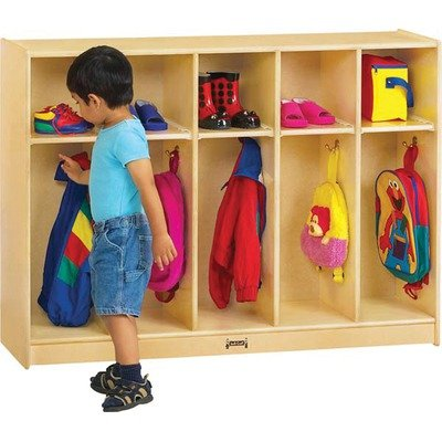 Thriftykydz���� Toddler Coat Locker - 5 Sections-Option:Assemble Yourself