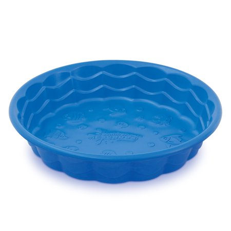 Small Plastic Molded Swimming Pool, Assorted Colors (In Store Only)