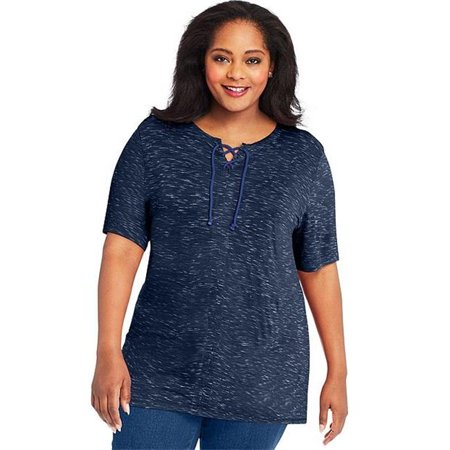 J M S 617914359713 Just My Lace Up Tunic, H7C - Size 20 - image 1 of 1