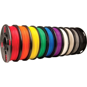 MakerBot 1.75mm PLA Filament (Small Spool, 10-Pack)