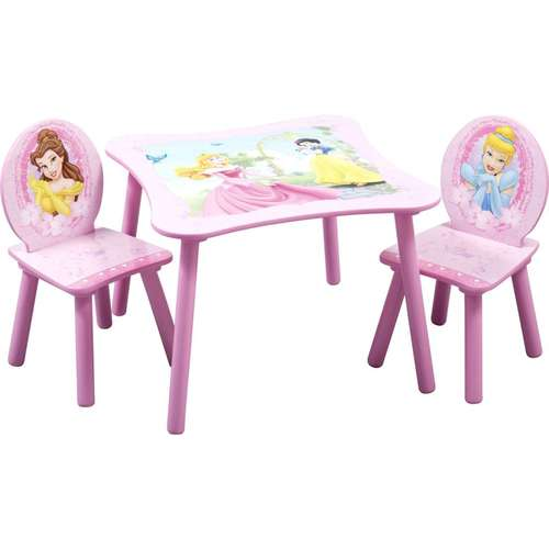 Disney - Princess Square Table and Chair Set