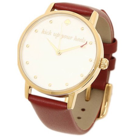 Kate Spade Metro Leather Womens Watch  Ksw1209