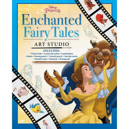 Disney Princess Enchanted Fairy Tales Art Studio Disney Fairy Tale Princesses Rings