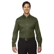 Legacy Wrinkle-Free Two-Ply 80's Cotton Jacquard Taped Shirt