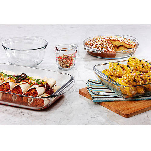 Anchor Hocking 5-Piece Basic Bakeware Set