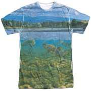 Wild Wings Bighorn River (Front Back Print) Mens Sublimation Shirt