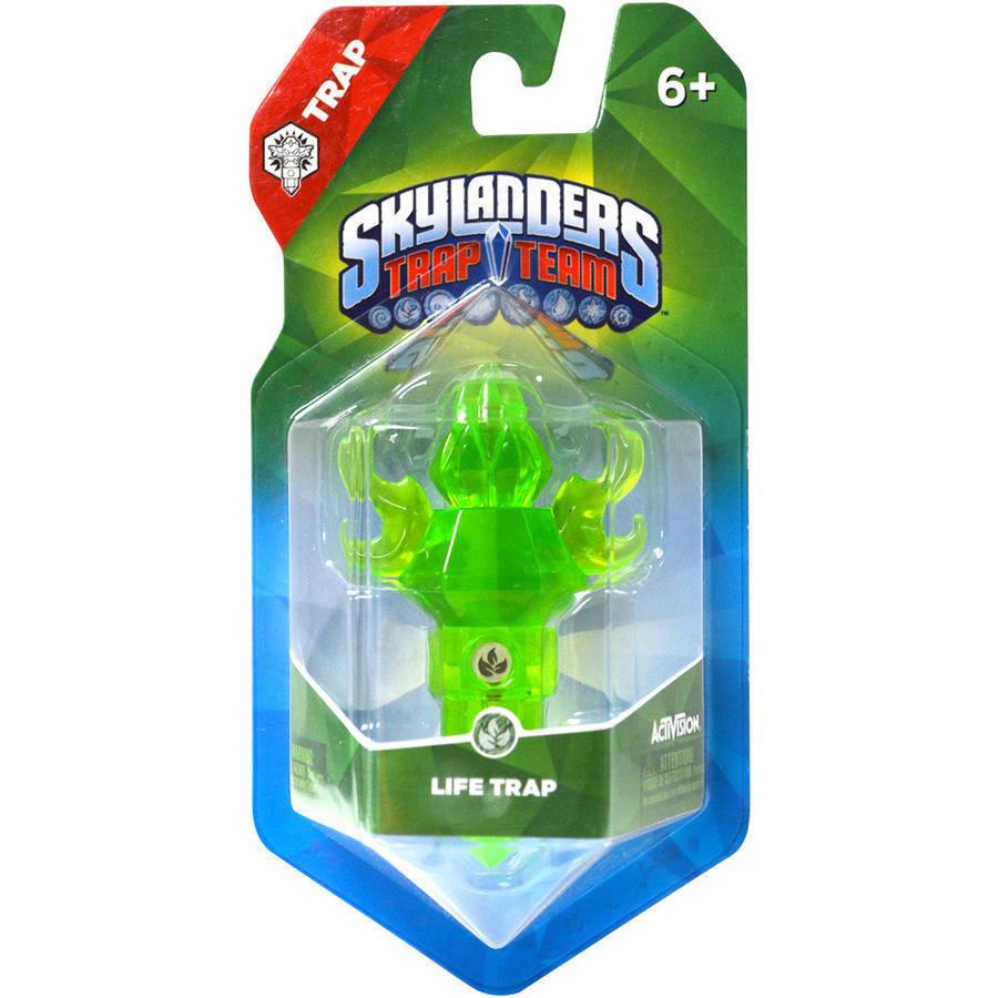Skylanders Trap Team: Emerald Energy Life Torch (Universal)