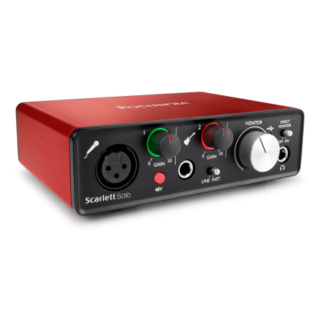 Focusrite - Scarlett Solo (2nd Gen) - Audio (Best Audio Interface For Djing With Ableton)