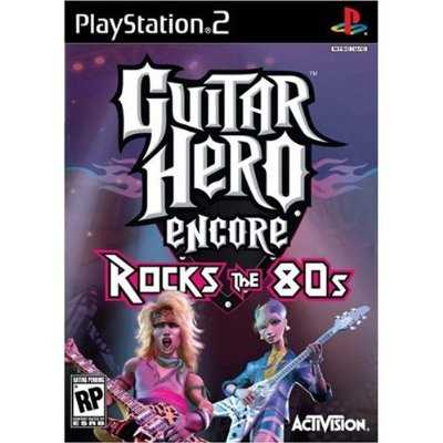 Guitar Hero Encore: Rocks the 80s for PlayStation 2