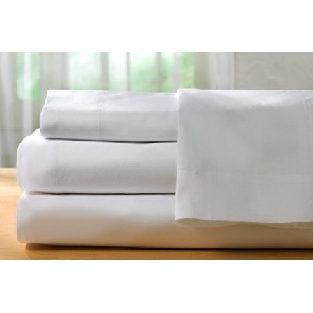 Pacific Linens White Pillowcases, 180 Thread Count 2-Pack ... - photo#5