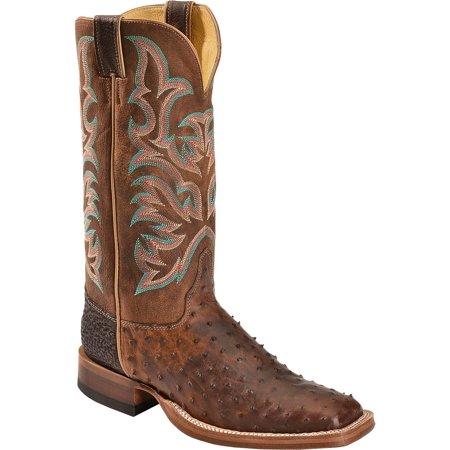 990c0c03cae Justin - Justin Men's Aqha Jurassic Full Quill Ostrich Cowboy Boot ...