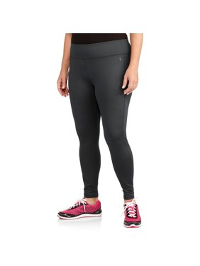 Women's Plus-Size Ankle-Length Poly Sport Tight