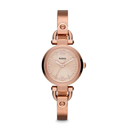 Fossil Women's Georgia Rose Gold Tone Stainless Steel Watch (Style: ES3268)