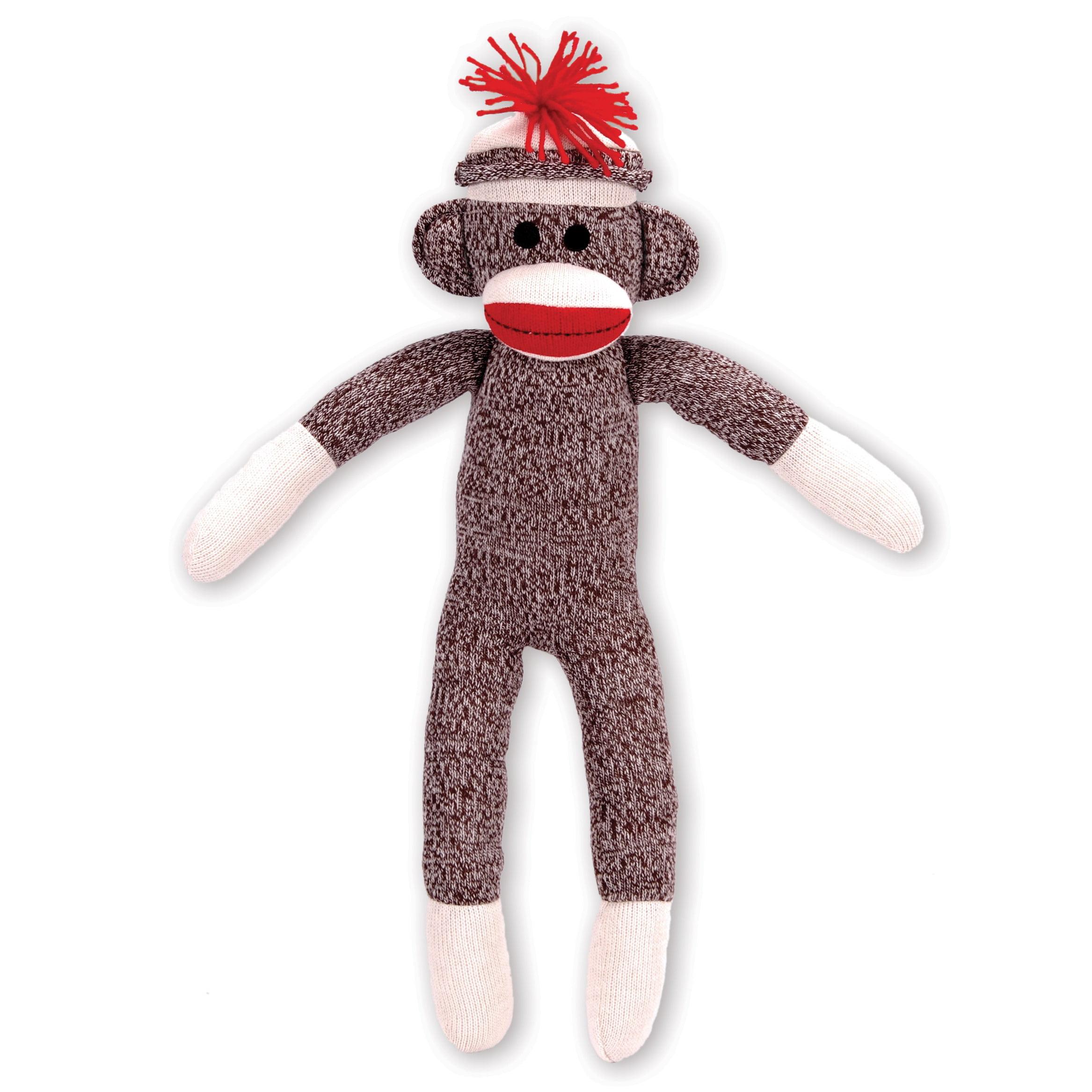 Schylling Schylling Sock Monkey Stuffed Animal Walmart Com