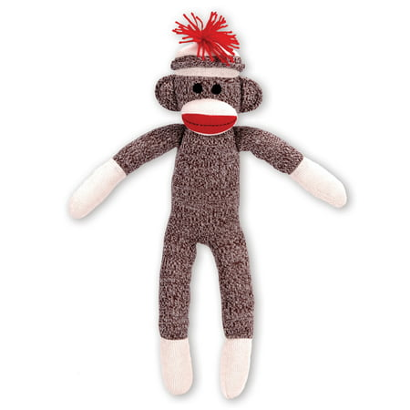 Schylling Schylling Sock Monkey Stuffed - Monkey Mascot