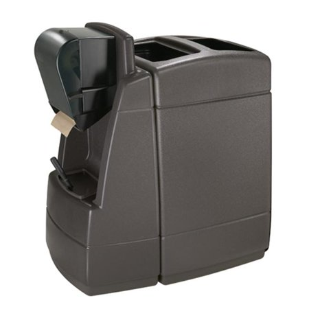 Commercial Zone 75830599 55-gallon Waste with 1 sided Windshield Center- Roll Towel - Charcoal
