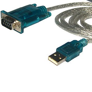 USB to Serial Port Adapter Cable 9 PIN USB A MALE/DB9 MALE