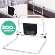 Aluminium Folding Bed Rail Safety Bed GuardRail Bed Fence Assist Handle Adult Elderly Home Hospital Safety Aids