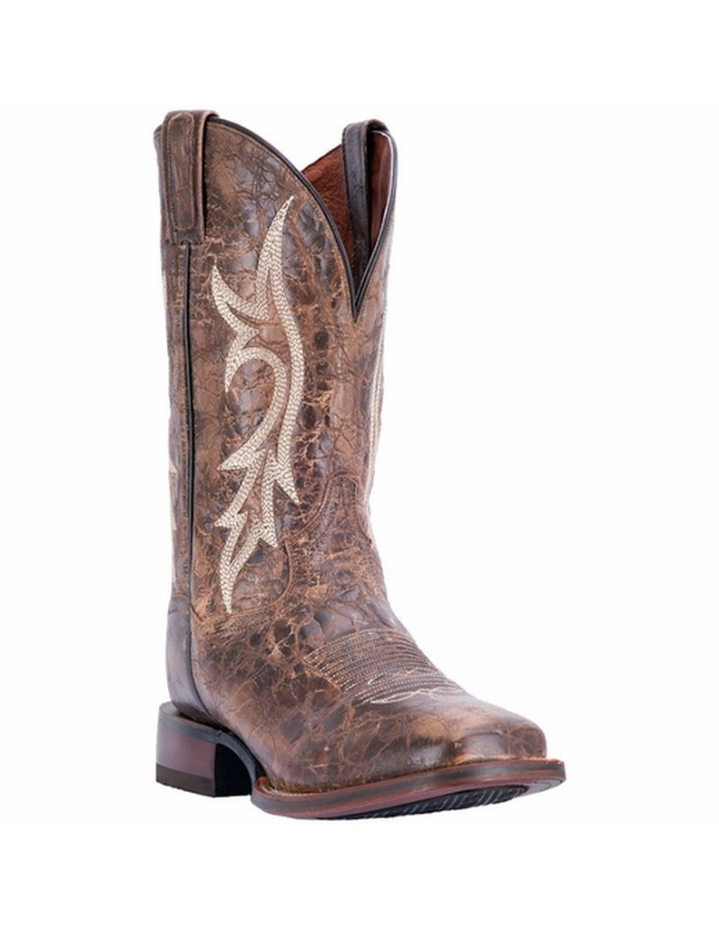 "Dan Post Men's 12"" Brown Junction Cowboy Boot, DP4540 by DAN POST"