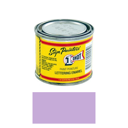 1/4 Pint 1 Shot VIOLET Paint Lettering Enamel Pinstriping & Graphic Art